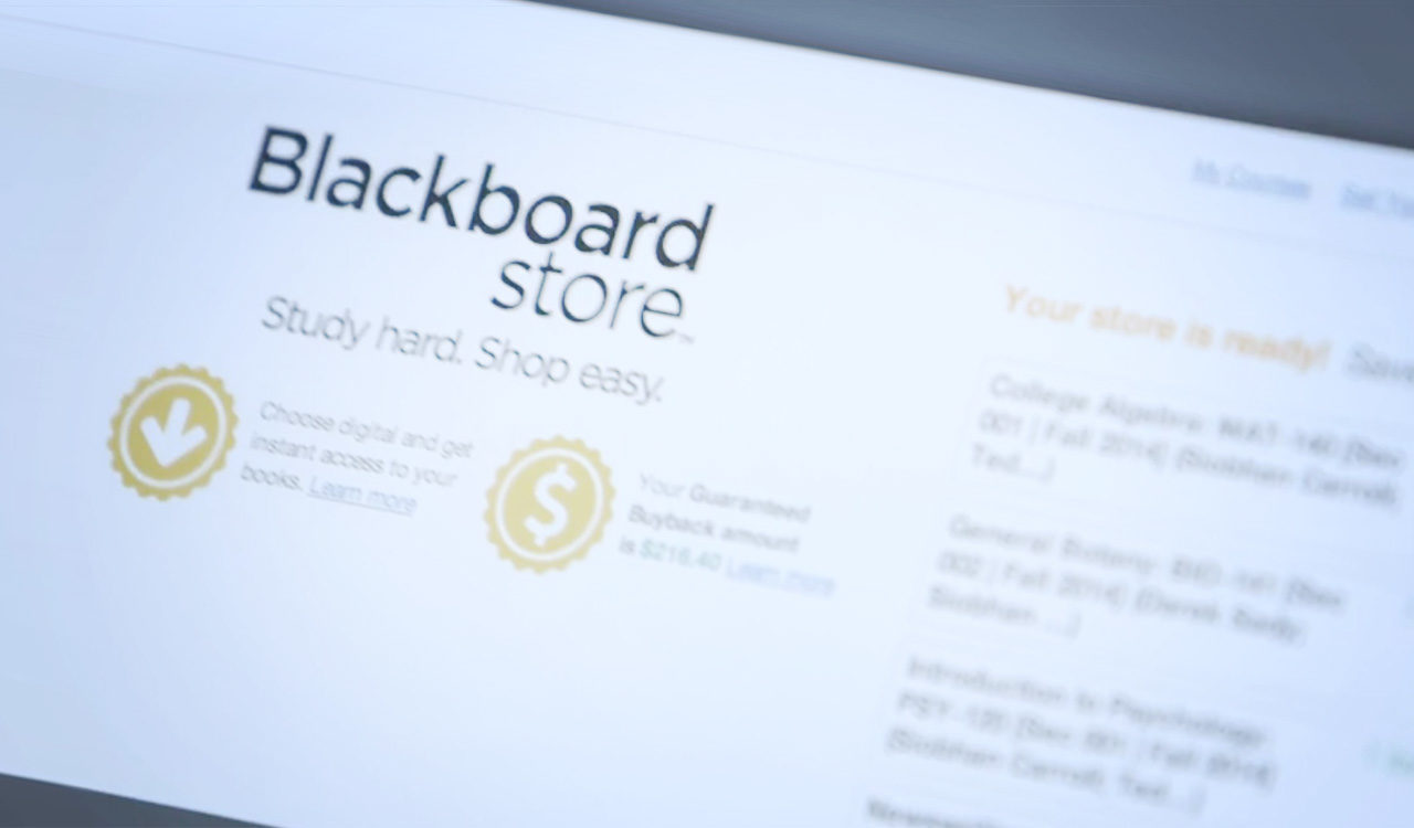 Blackboard Store. Improving Student Outcomes.
