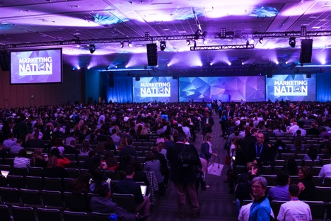 Marketo Marketing Nation Summit 2017 crowd