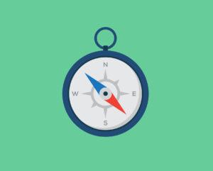 B2B content buyers journey compass