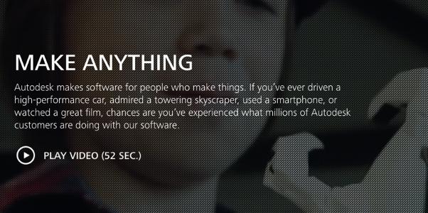 Autodesk video screenshot