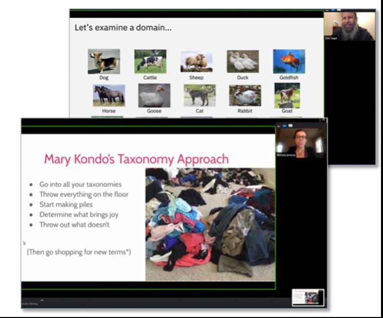 Marie Kondo taxonomy approach