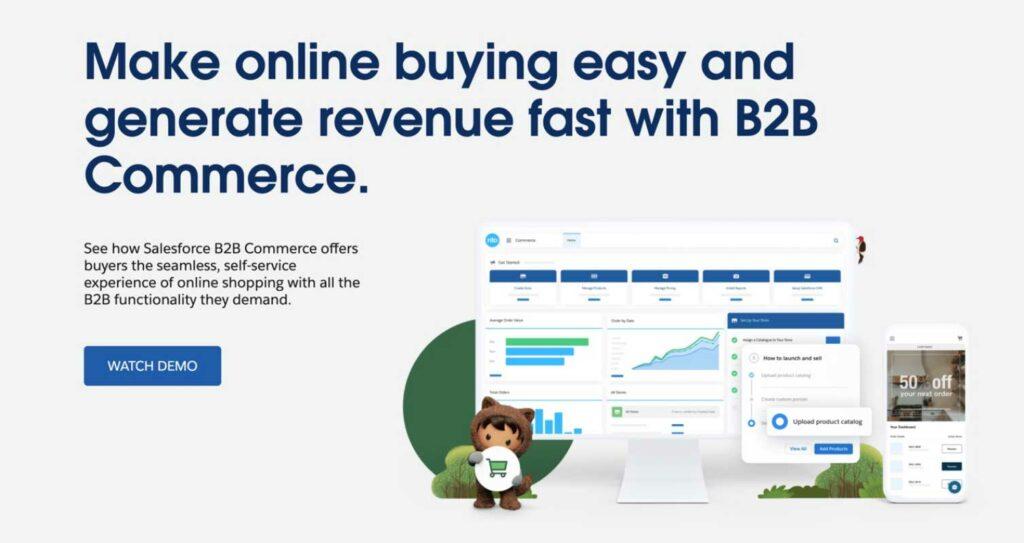 Salesforce Commerce Cloud main banner image