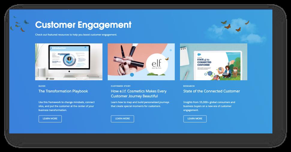 Salesforce featured resources